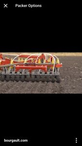 WANTED bourgault rubber packers