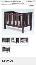 Baby cot and change table Minto Campbelltown Area Preview