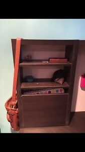 Dark wood corner desk.. brand new put together  Kitchener / Waterloo Kitchener Area image 4
