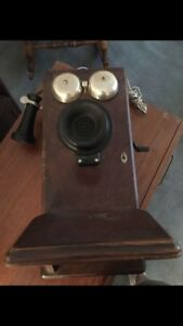 Antique 100-Year Old Telephone Date-stamped July 1917