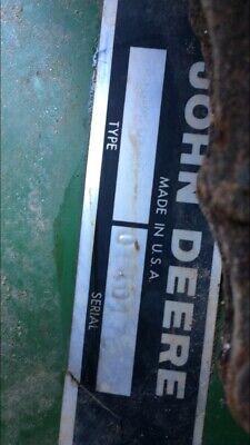 John Deere 4 Row Corn Planter Hydraulic Implement Attachment C-1783-n Planter