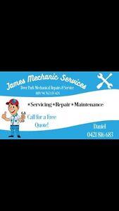 James Mechanic Services Mobile mechanic & Roadside Assistance Deer Park Brimbank Area Preview
