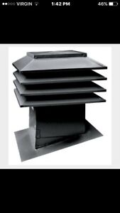 Cupola Style Attic/Roof Vents
