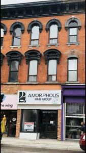Excellent commercial space available on King St East