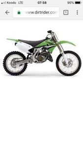 Wanted: kx125 parts