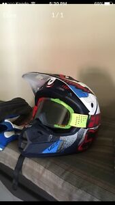 Fox helmet/goggles