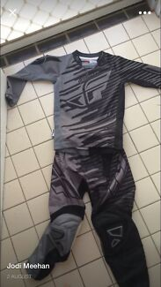 Boys motocross outfit with new helmet  Maryland 2287 Newcastle Area Preview