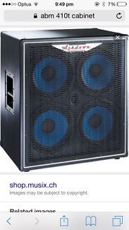 wanted Ashdown Abm-410 or CL-410 bass guitar box URGENT  Adelaide CBD Adelaide City Preview