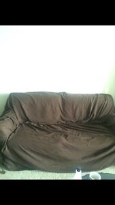 Brown couch cover !
