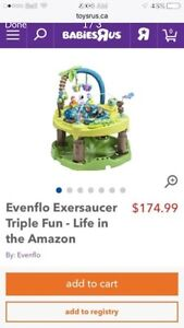 Amazing Exersaucer That Grows with Baby