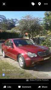 2002 Mercedes-Benz C180 Sedan Gosford Gosford Area Preview