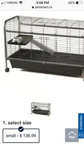 'Luxury' Rabbit/Hamster/Pet Cage and Accessories