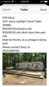 2011 Jayco Jayflight Travel Trailer 29QBH