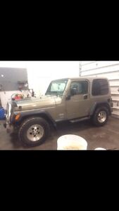 2003 jeep tj NO RUST what so ever