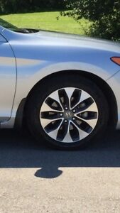 """17"""" accord Honda factory wheels with Michelin tires"""