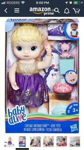 Cupcake baby alive