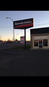 Speedy glass is Thunder bays Car starter Headquarters !!!