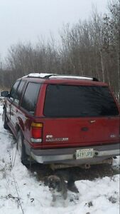 For sale 97 Ford Explorer 4x4