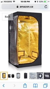 Grow Tent 4x4x7ft. Good condition. Cheap price