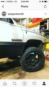 22x12 hd rampage rims on brand new falcon tires