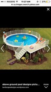 Looking for Pool Deck kit like the picture.