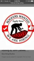 HIRING ROOFERS SHINGLERS LABOURERS, sub crews call 6474601074