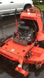 """2013 gravely pro stance 52"""" stand on mower"""