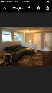 Basement apartment for rent in Burlington