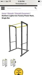 Power rack and barbell/Weights