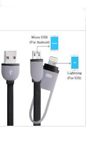 2 in 1 Retractable USB Charging Cord Tangle-free Charger for iPhone Auburn Auburn Area Preview