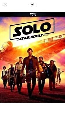 Solo: A Star Wars Story (DVD 2018) Brand New - Free Shipping