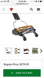 Used Reel Lawnmower - Fiskars