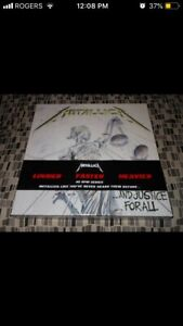 METALLICA ...And Justice For All VINYL RECORD LIME GREEN!