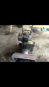 Crafts man snowblower with electric start