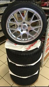 STAGGERED BBS CHR109 RIMS FOR SALE