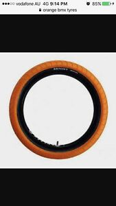 WTB orange Bmx tyres Cooloongup Rockingham Area Preview