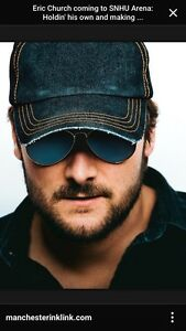 4 Tickets to Eric Church in Ottawa Friday March 3rd