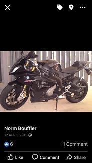 Very quick motorbike