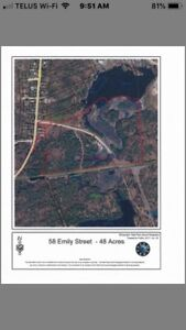 Development property Parry Sound - 20+ acres