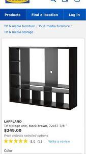 Like New IKEA media stand
