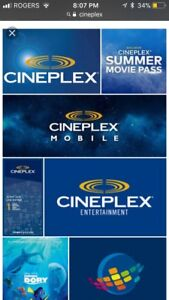$50 CINEPLEX GIFT CARD FOR SALE