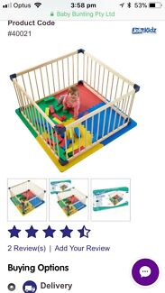 Jolly kids square play pen