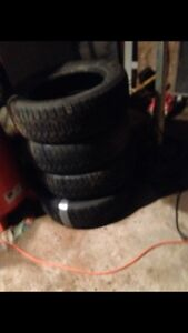 Have a set of 225 60 R 17's for sale
