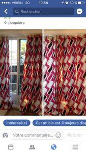 2 rideaux