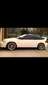 Wanted 91 Honda CRX SI