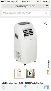 LG PORTABLE AIR CONDITIONING UNITS