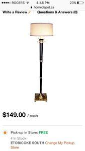 Hampton Bay Floor Lamps