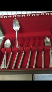 Antique Silver Cutlery Set 6persons