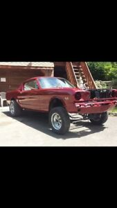Looking for 65-70 Mustang fastback