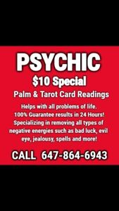 Powerful Psychic $10 SPECIAL 24 HR Results